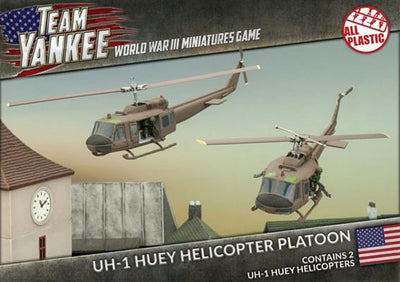 TUBX07 Huey Helicopter Flight (Plastic) Battlefront- Blitz and Peaces