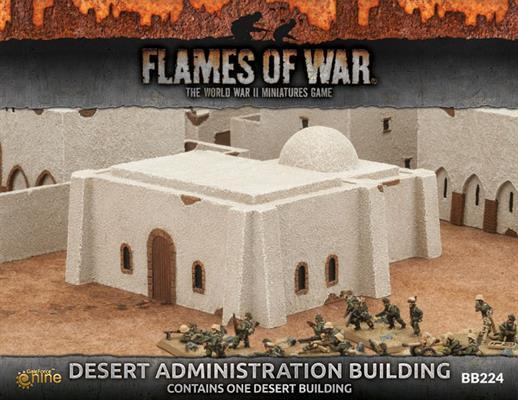BB224 Desert Administration Building Battlefront- Blitz and Peaces