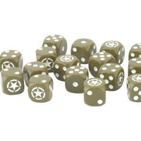 US906 American LW Dice Set Battlefront- Blitz and Peaces