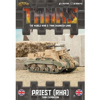TANKS63 British Priest RHA Tank Expansion Battlefront- Blitz and Peaces