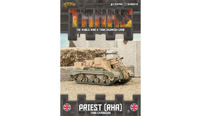 TANKS63 British Priest RHA Tank Expansion