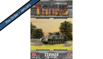 MTANKS13 British Striker Tank Expansion