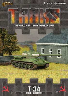 TANKS10 Soviet T-34 Tank Expansion