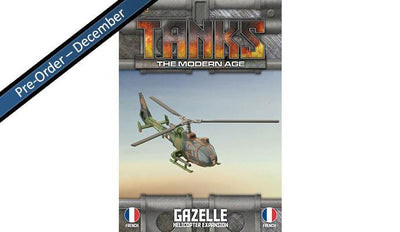 MTANKS27 French Gazelle Helicopter Expansion Battlefront- Blitz and Peaces