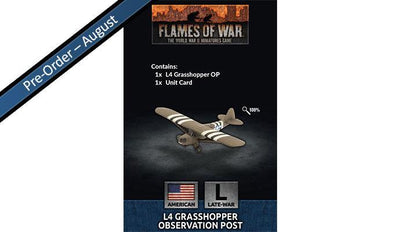 US951 L4 Grasshopper Observation Post Battlefront- Blitz and Peaces