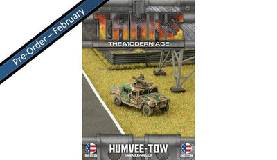 MTANKS30 American HUMVEE-TOW Tank Expansion Battlefront- Blitz and Peaces
