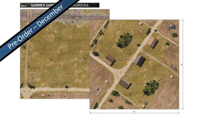WOT14 Summer Game Mat : Prokhorovka
