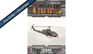 MTANKS29 American Cobra Helicopter Expansion Battlefront- Blitz and Peaces