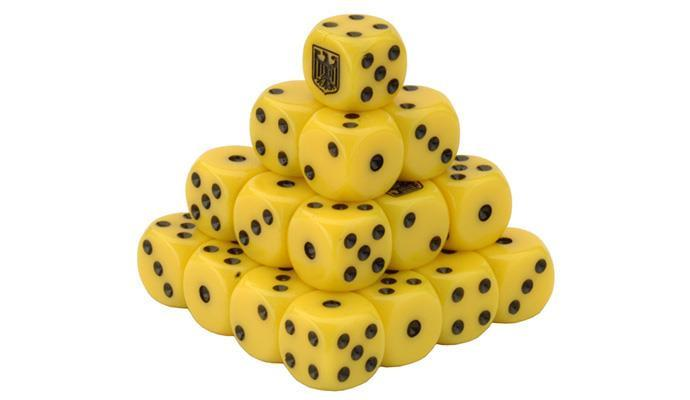 TGR900 Team Yankee West German Dice Set Battlefront- Blitz and Peaces