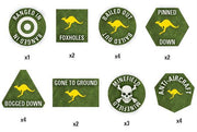 TTK07 Team Yankee Australian Token Set