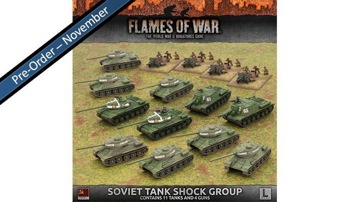 Soviet Shock Tank Group Battlefront- Blitz and Peaces