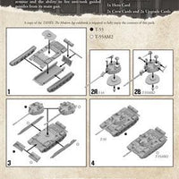 MTANKS22 Soviet T-55 Tank Expansion Battlefront- Blitz and Peaces