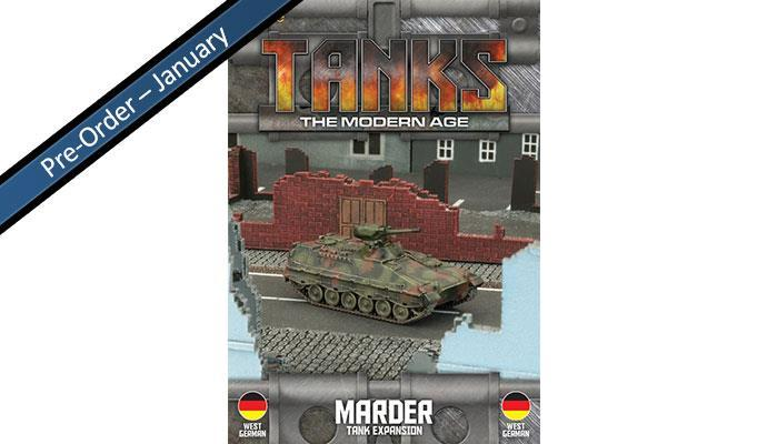 MTANKS14 West German Marder Tank Expansion Battlefront- Blitz and Peaces