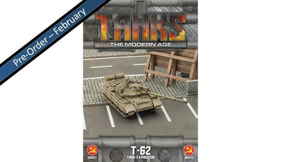 MTANKS12 Soviet T-62 Tank Expansion Battlefront- Blitz and Peaces