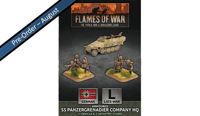 GBX138 Armoured SS Panzergrenadier Company HQ