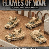 GBX94 Sd Kfz 10/4 (2cm) Light AA Platoon Battlefront- Blitz and Peaces