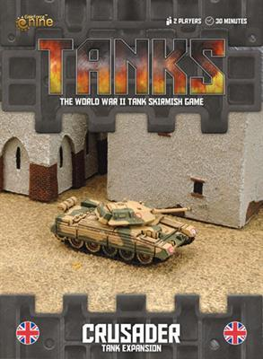 TANKS39 British Crusader Tank Expansion Battlefront- Blitz and Peaces