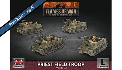 BBX64 Priest Field Troop (Plastic)