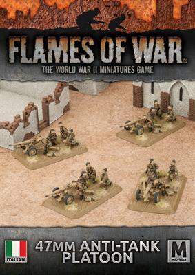 IBX18 47mm Anti-tank Platoon (Plastic) Battlefront- Blitz and Peaces