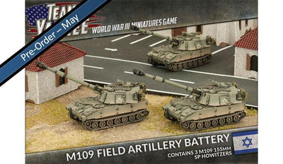 TIBX04 M109 SP Field Artillery Battery Battlefront- Blitz and Peaces