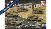 TIBX01 Merkava Tank Platoon (Plastic) Battlefront- Blitz and Peaces