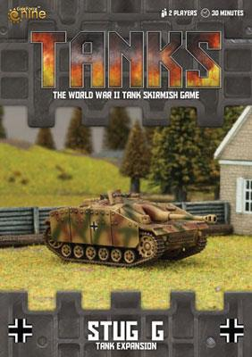TANKS04 German StuG G Tank Expansion Battlefront- Blitz and Peaces