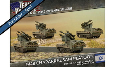 TIBX07 M48 Chaparral SAM Platoon Battlefront- Blitz and Peaces