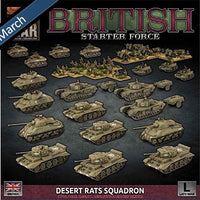 BRAB13 British Starter Force: Desert Rats Squadron Battlefront- Blitz and Peaces