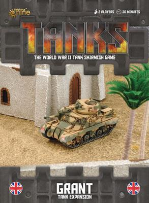 TANKS38 British Grant Tank Expansion Battlefront- Blitz and Peaces