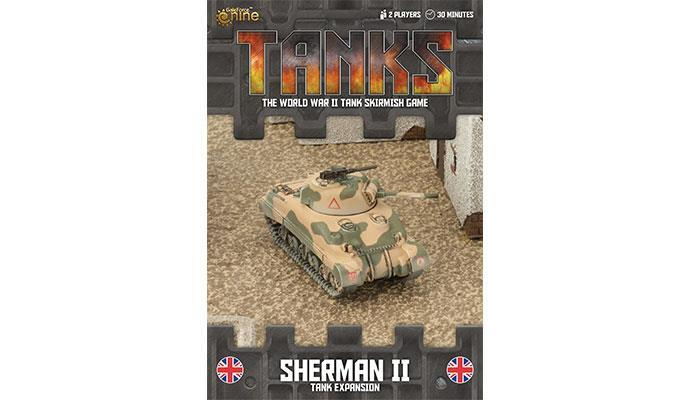 TANKS59 British Sherman II Tank Expansion Battlefront- Blitz and Peaces