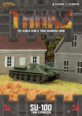 TANKS11 Soviet SU-100 Tank Expansion Battlefront- Blitz and Peaces