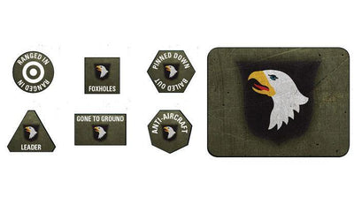 US909 101st Airborne Division Tokens and Objectives