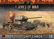FW130S Armies Of Late War: Soviet Unit Cards