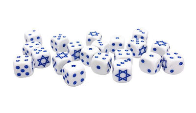 TIS900 Israeli Dice Set Battlefront- Blitz and Peaces