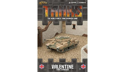 TANKS58 British Valentine Tank Expansion