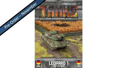 MTANKS09 West German Leopard 1 Tank Expansion