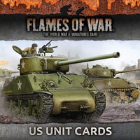 FW130U Armies Of Late War: US Unit Cards