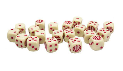 TIR900 Iranian Dice Set Battlefront- Blitz and Peaces