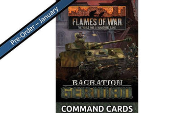 FW267C Bagration: German Command Cards (55x Cards)