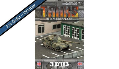 MTANKS04 British Chieftain Tank Expansion