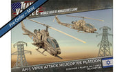 TIBX09 AH-1 Viper Attack Helicopter Platoon (Plastic) Battlefront- Blitz and Peaces