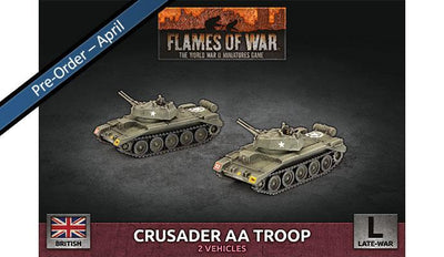 BBX59 Crusader AA Troop (Plastic) Battlefront- Blitz and Peaces