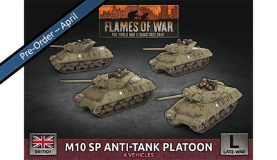 BBX62 M10 SP Anti-Tank Troop (Plastic) Battlefront- Blitz and Peaces