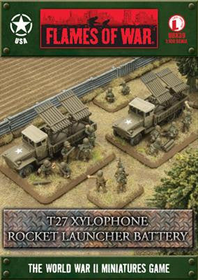 T27 Xylophone Rocket Launcher Battery