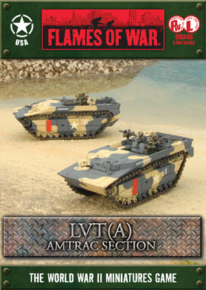 LVT(4) Amtrac Section Battlefront- Blitz and Peaces