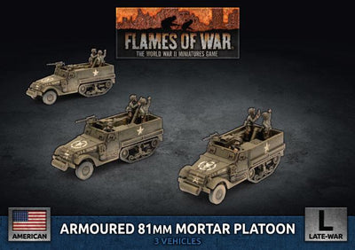 UBX78 M4 81mm Armored Mortar Platoon Battlefront- Blitz and Peaces