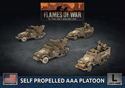 UBX83 Self Propelled M15/M16 GMC AAA Platoon Battlefront- Blitz and Peaces