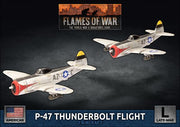 UBX85 P-47 Thunderbolt Fighter Flight Battlefront- Blitz and Peaces