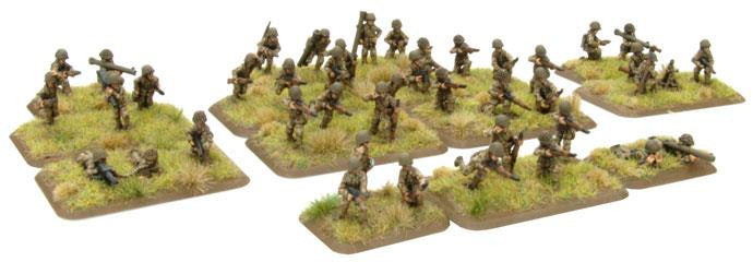 Armoured Rifle Platoon (Late) Battlefront- Blitz and Peaces