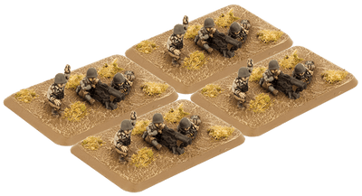 US784 M1917 Machine-gun Platoon (Plastic) Battlefront- Blitz and Peaces